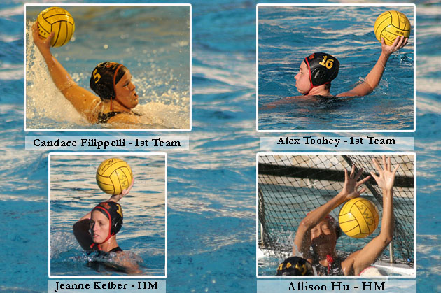 Four Athenas Named To ACWPC All-American Team