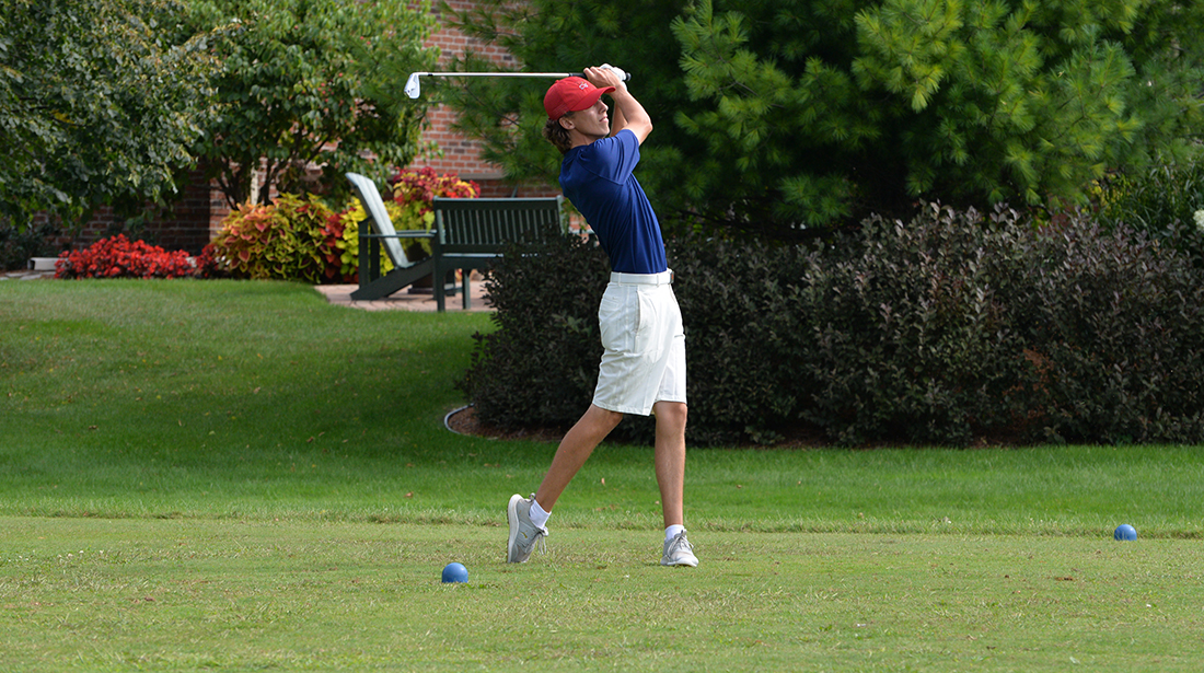 Men's Golf Sits 7th After 36 Holes at Underwood Invitational