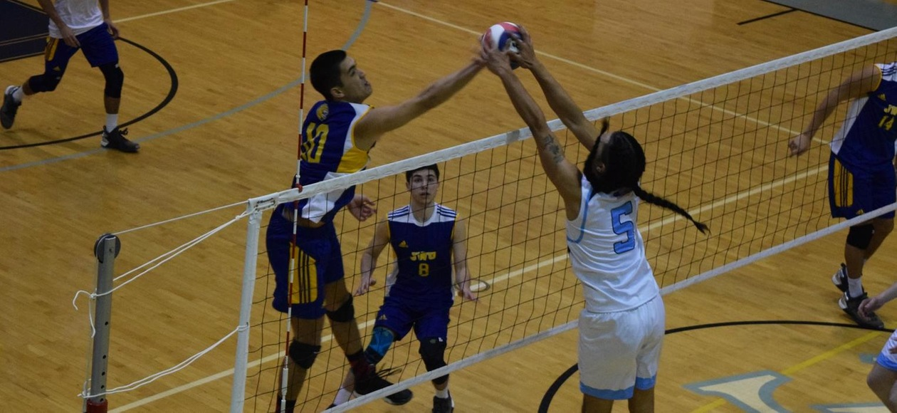 Men's Volleyball Beats Baruch to Finish JWU Invitational