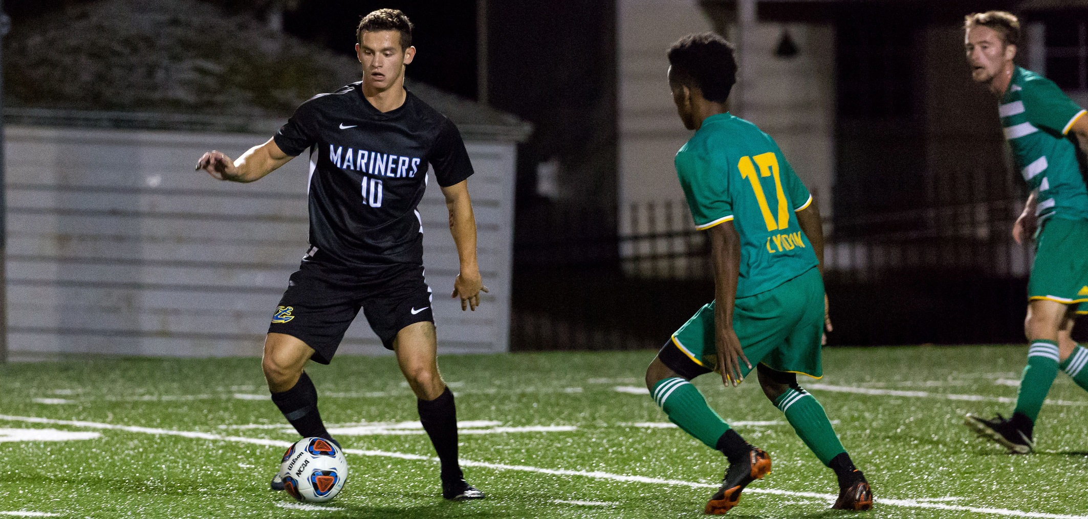 Caron's Hat Trick Leads Men's Soccer Over Unity
