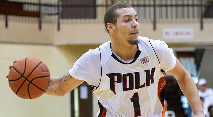 Elijah Cottrill eared a spot on the FCSAA 2014-15 All-Academic Team. (Photo by Tom Hagerty, Polk State.)