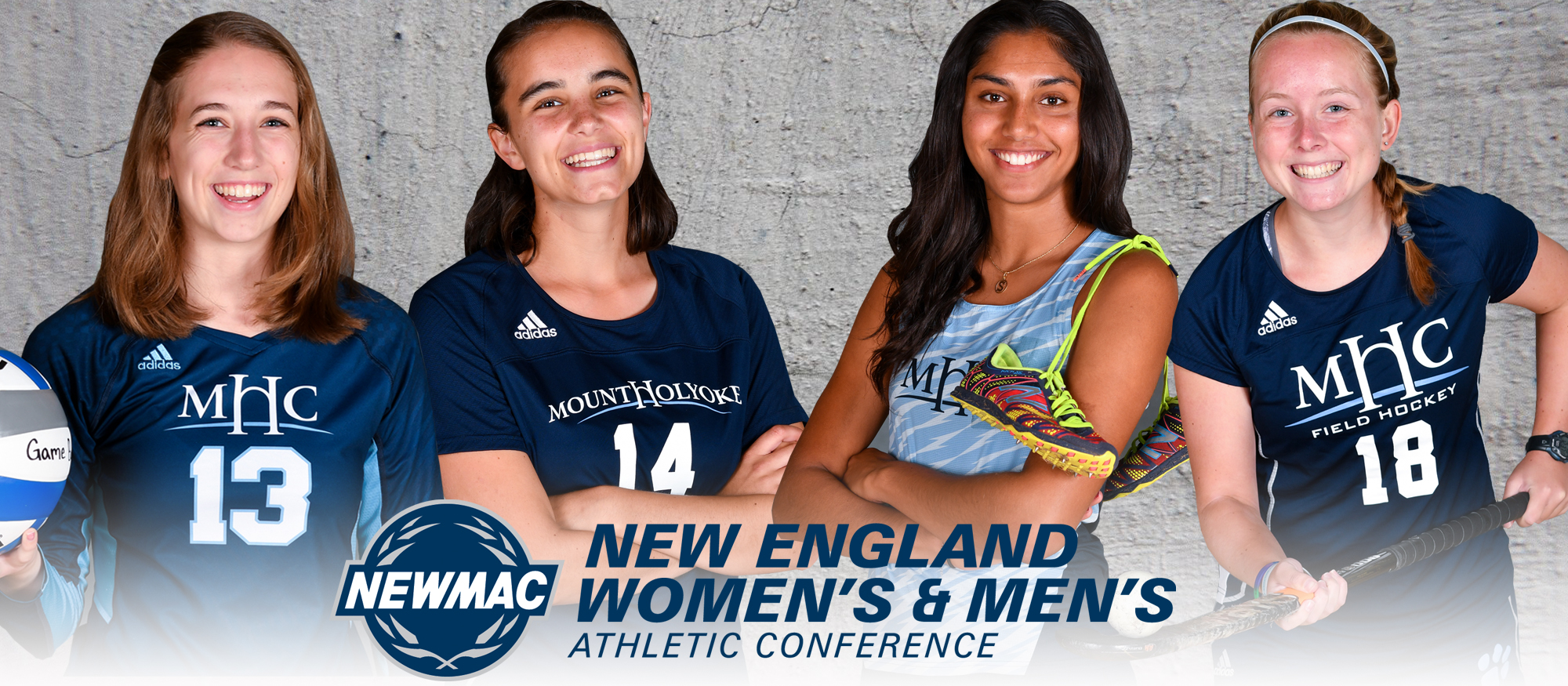 Thirty-Three Mount Holyoke College Fall Student-Athletes Earn NEWMAC Academic All-Conference Recognition