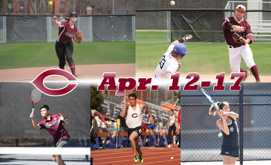 UChicago Athletics Preview: April 12-17