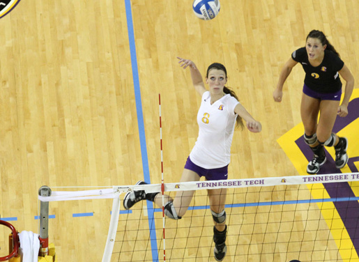 Volleyball defeated by Tennessee State
