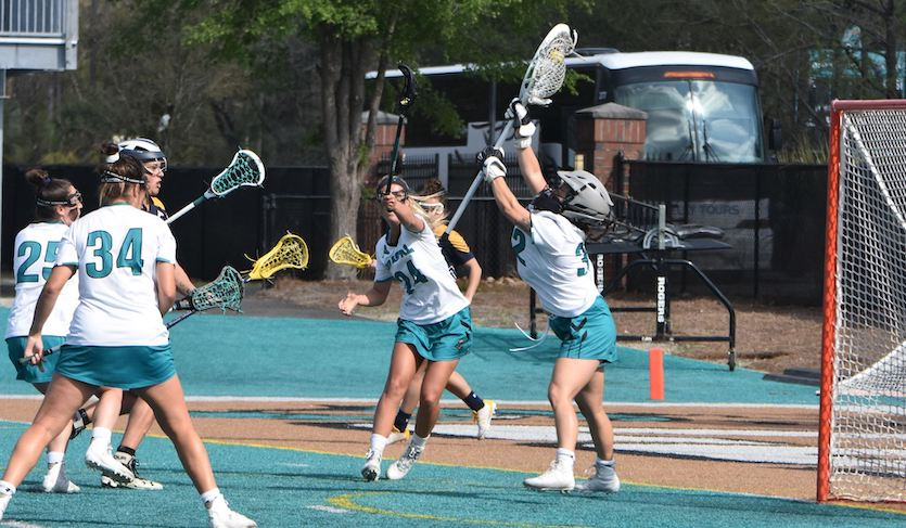 Barrett Gets Saves Milestone in Coastal's Win over Kent State
