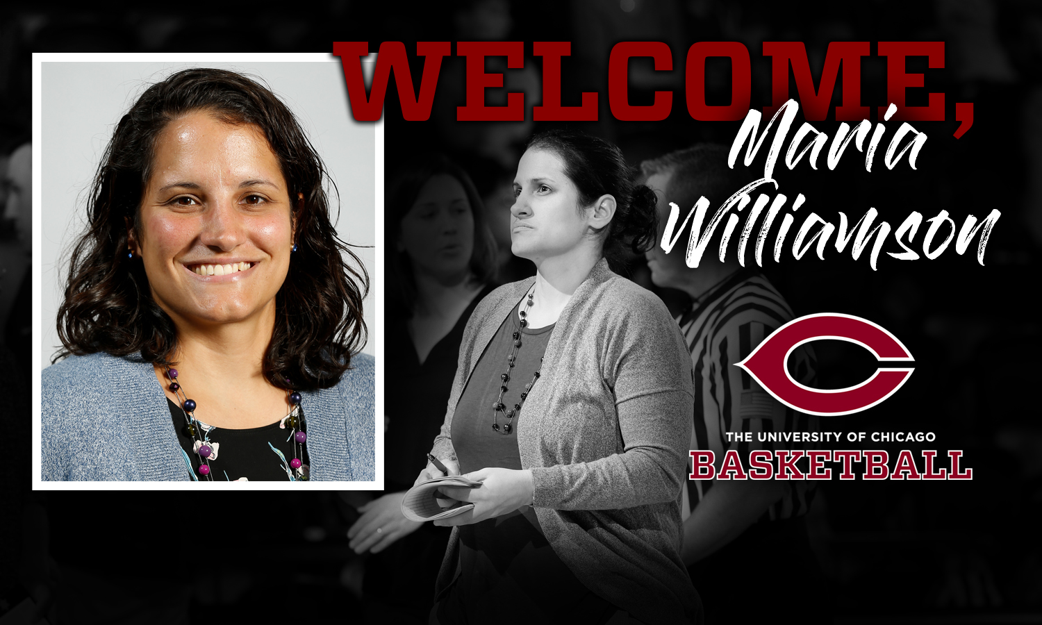 Maria Williamson Named Head Women's Basketball Coach