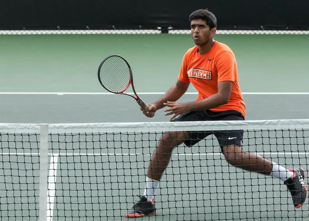Pathireddy Defeats No. 16 Player in Nation