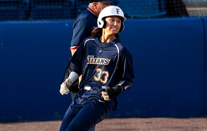 Titans Belt Three Home Runs in Run-Rule Win Over UCONN