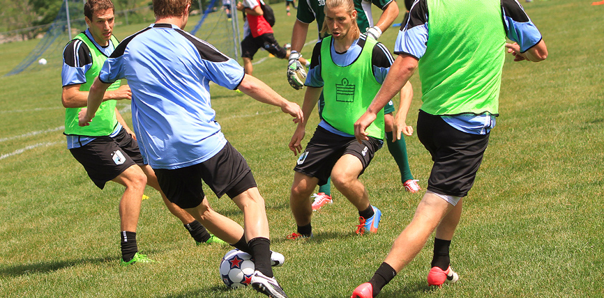 Minnesota United Practices at Ames Soccer Complex