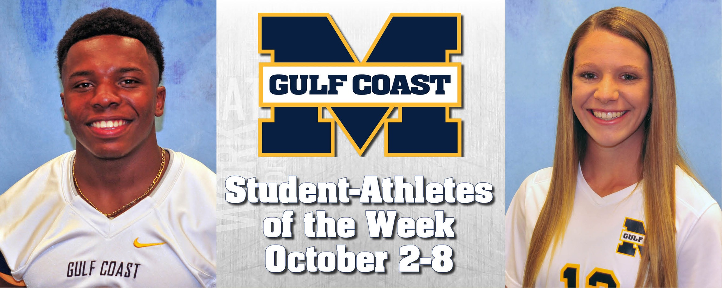 Torrey, LaFontaine named MGCCC Student-Athletes of the Week