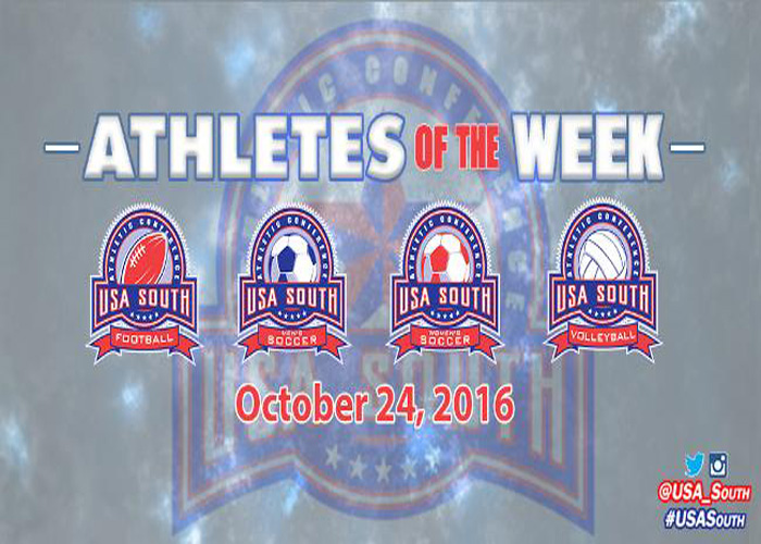 Bailey and Hargitt named USA South Athletes of the Week