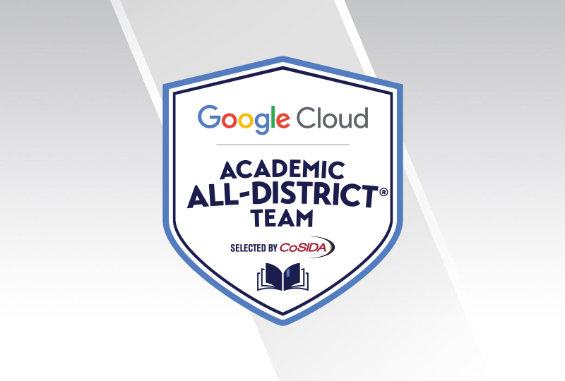 Three Named to Google Cloud Academic All-District At-Large Teams