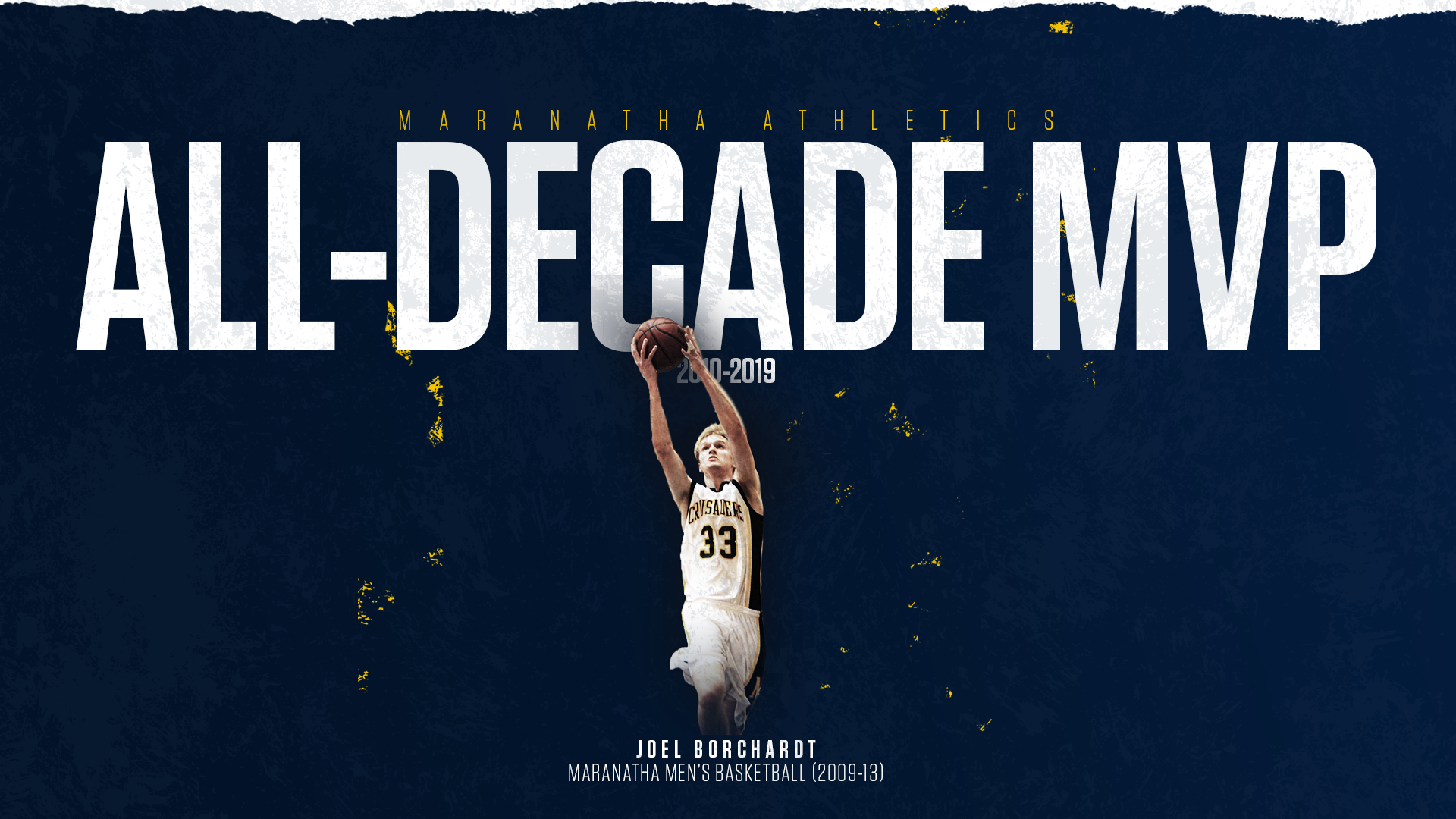 All-Decade MVP: Joel Borchardt