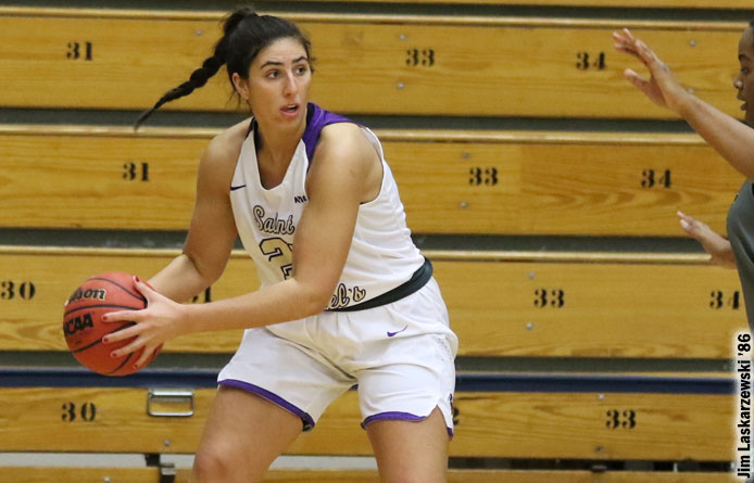 Women's Basketball Takes Down Regionally-Ranked Southern Connecticut State