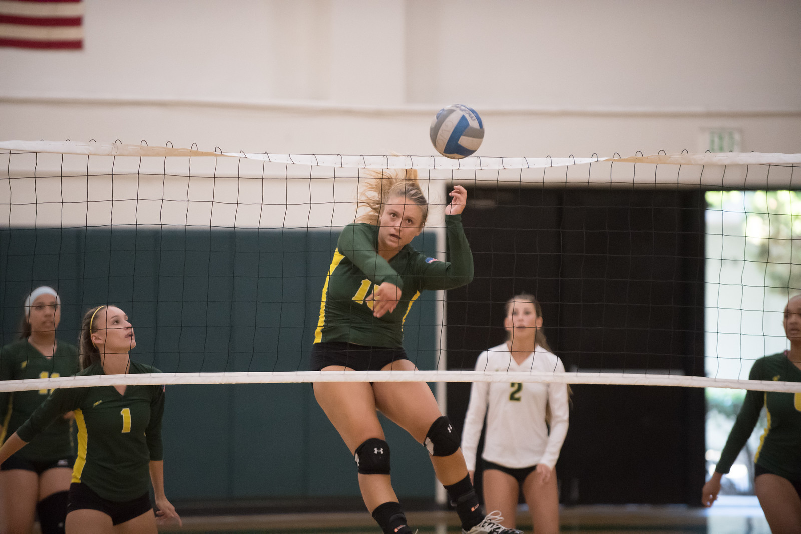 VanWaardenburg's Team High 19 kills Leads Rustlers to Victory