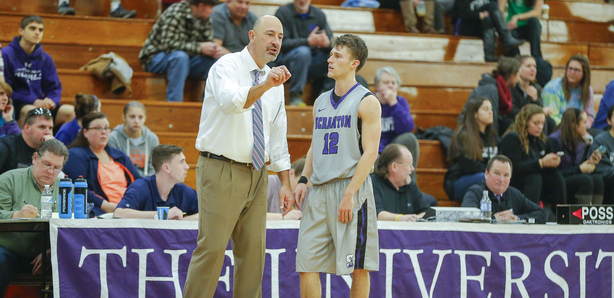 Guard Kevin Doolan is one of four starters returning for head coach Carl Danzig this season.