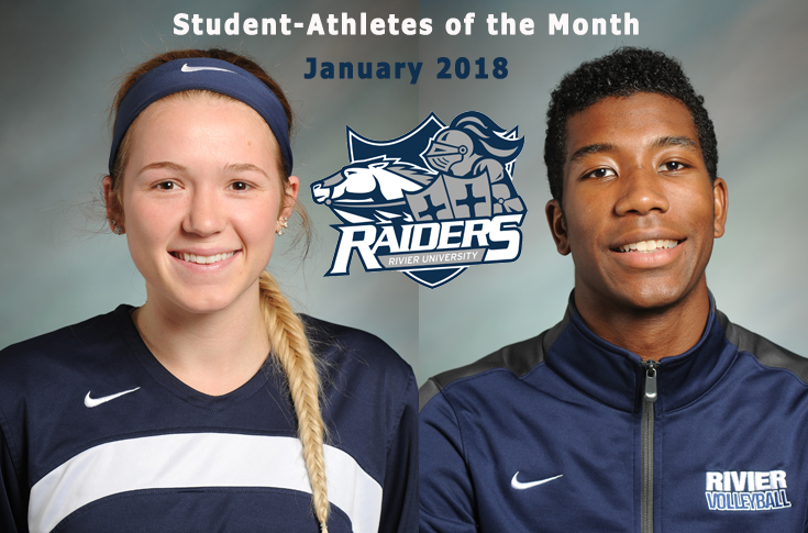 Graham, Kaylee Kacavas named Student-Athletes of the Month for January