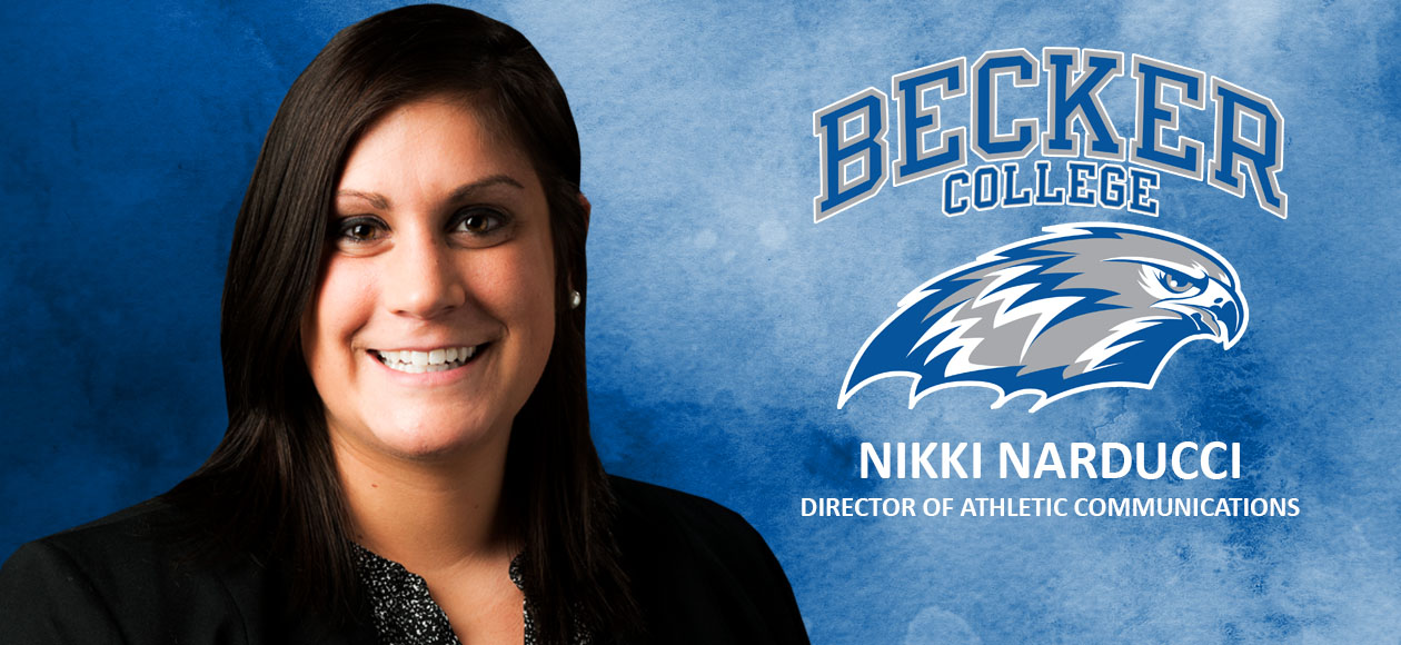 Narducci Named Becker College Director of Athletic Communications