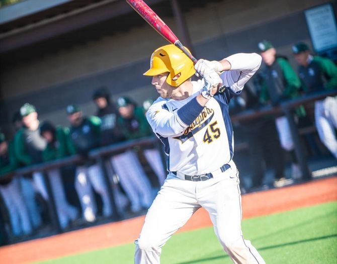 Baseball Ends Skyline Schedule with Sweep of Purchase