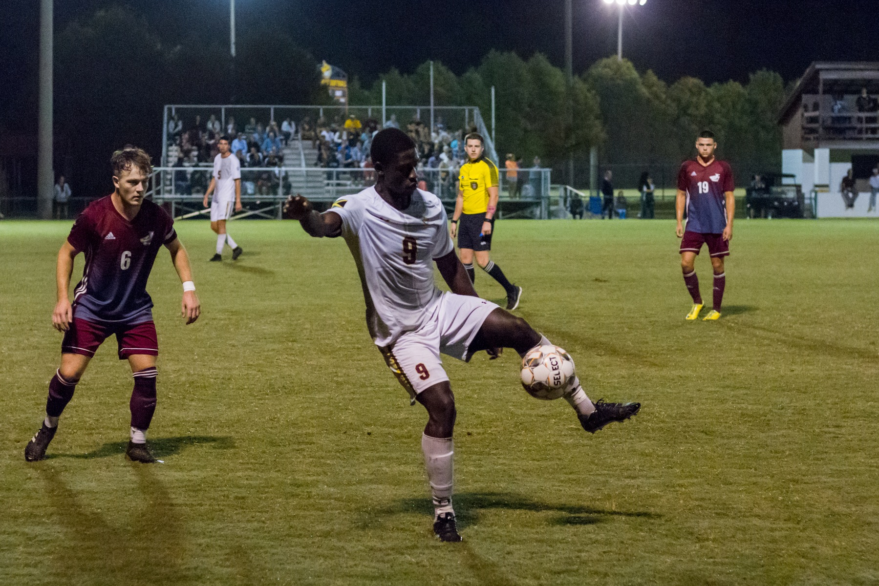 Pearl River's men's soccer team defeated visiting Jones College 4-3 on Friday, Oct. 12, 2018, in Poplarville. (BRETT RUSS/PRCC ATHLETICS)