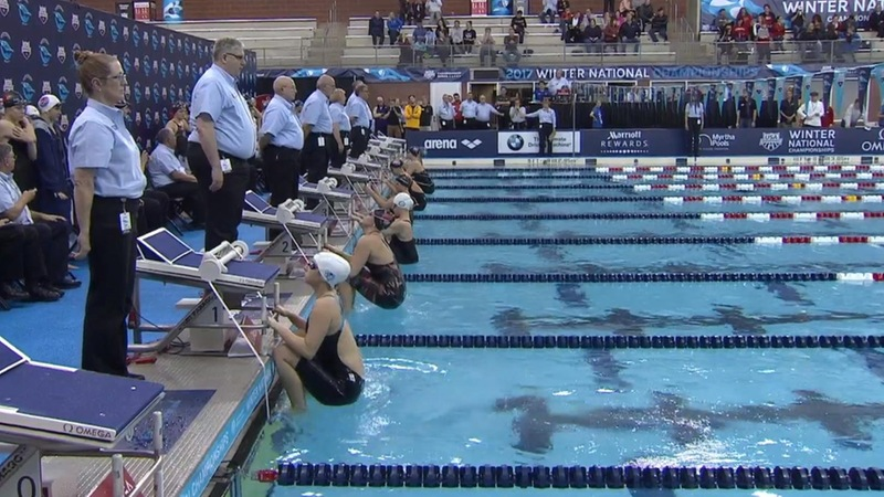 Blue Devils 10th at USA Winter Nationals in 400 Medley Relay