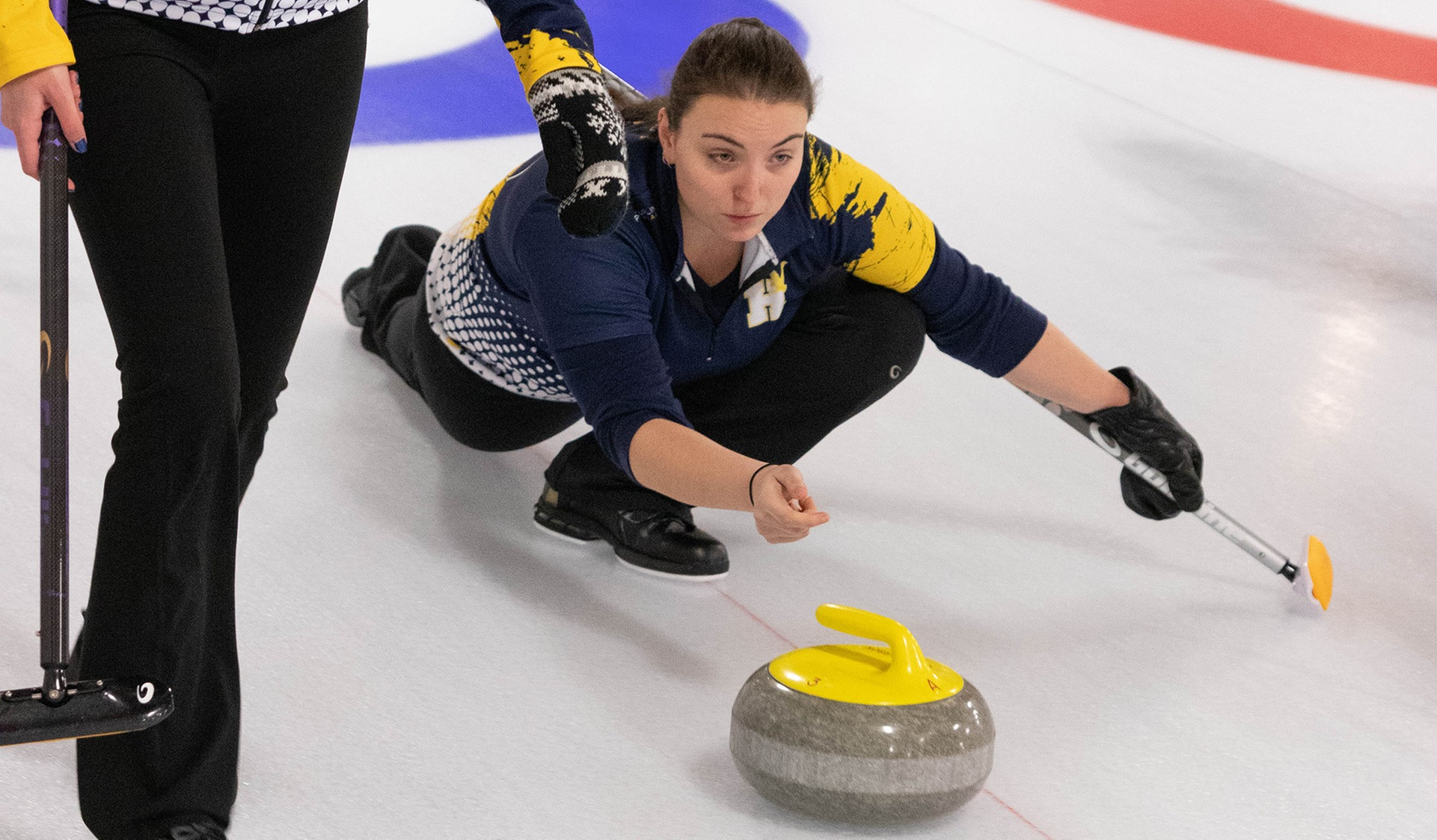 HAWKS WOMEN'S CURLERS ADVANCE TO OCAA GOLD MEDAL GAME ON SUNDAY