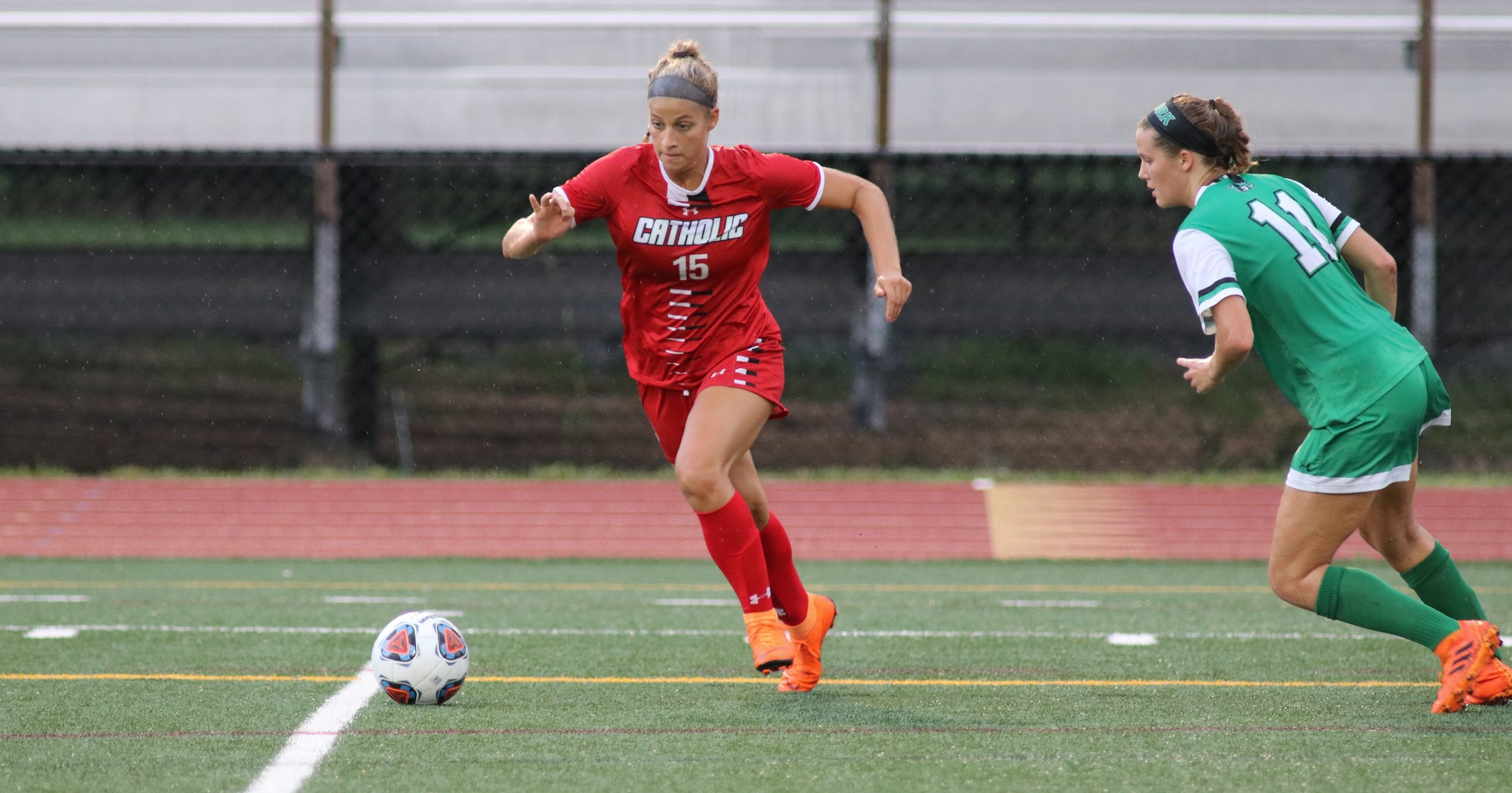 Cardinals Fall at Eastern Mennonite in Overtime, 2-1