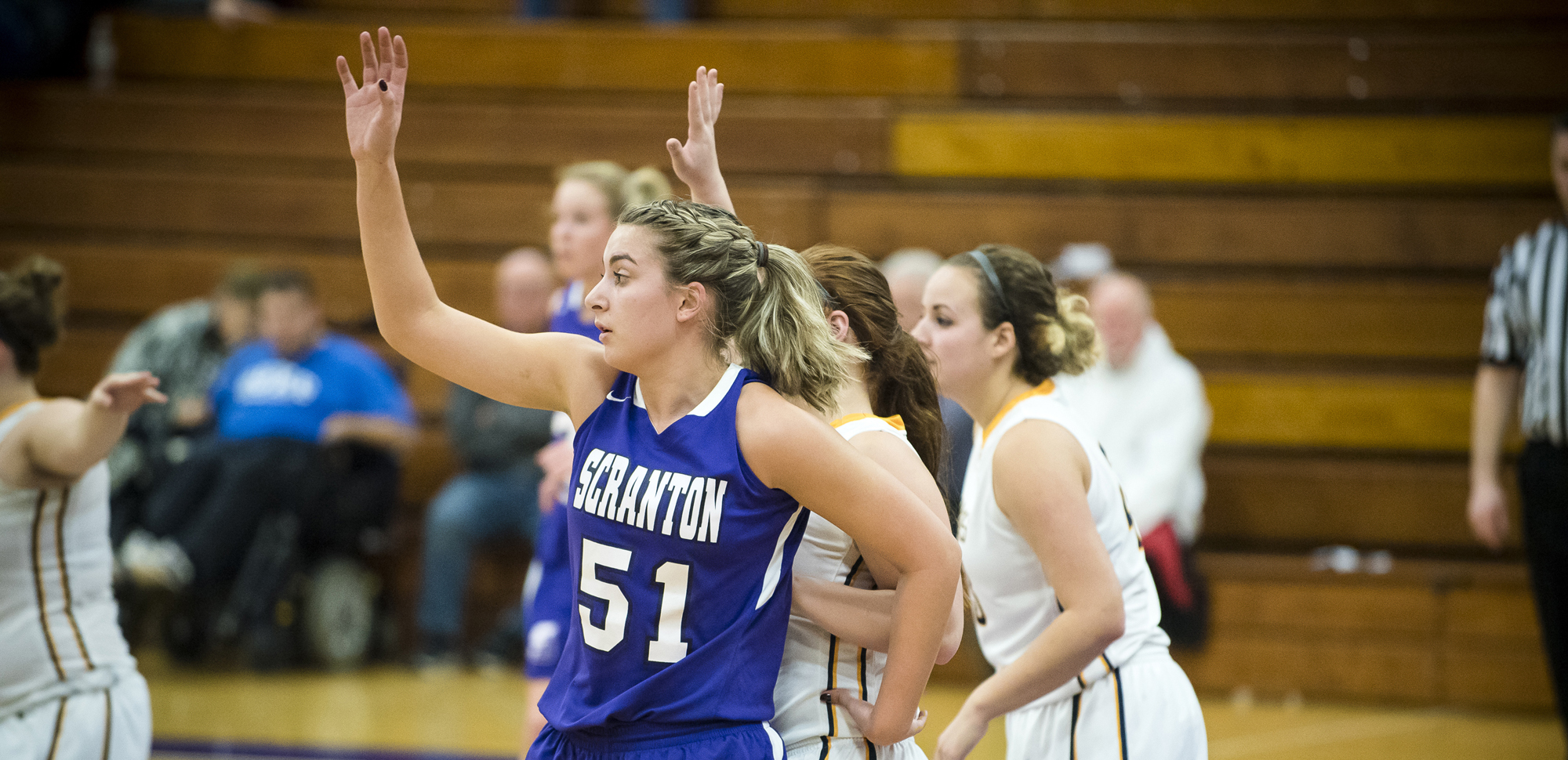 Sophomore center Sofia Recupero scored a game-high 21 points to lead the Lady Royals to victory in Friday night's season opener.