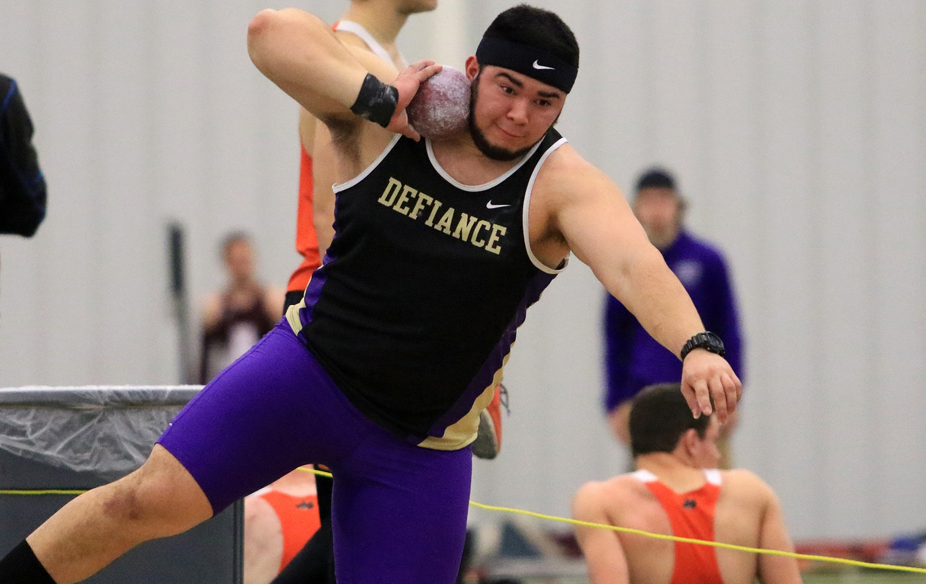 Castillo Takes Fourth in Shot Put at HCAC Championships