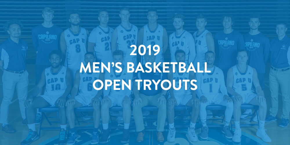 2019 Men's Basketball Open Tryout