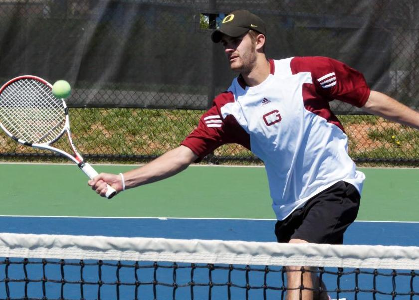 Guilford Drops 7-2 Men's Tennis Decision to Washington (Md.)