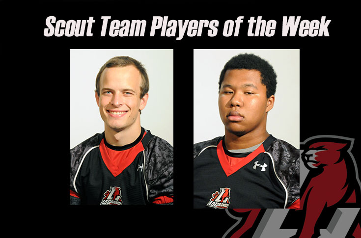 Football: Levi Dunn, Ronald Jean-Pierre named Scout Team Players of the Week