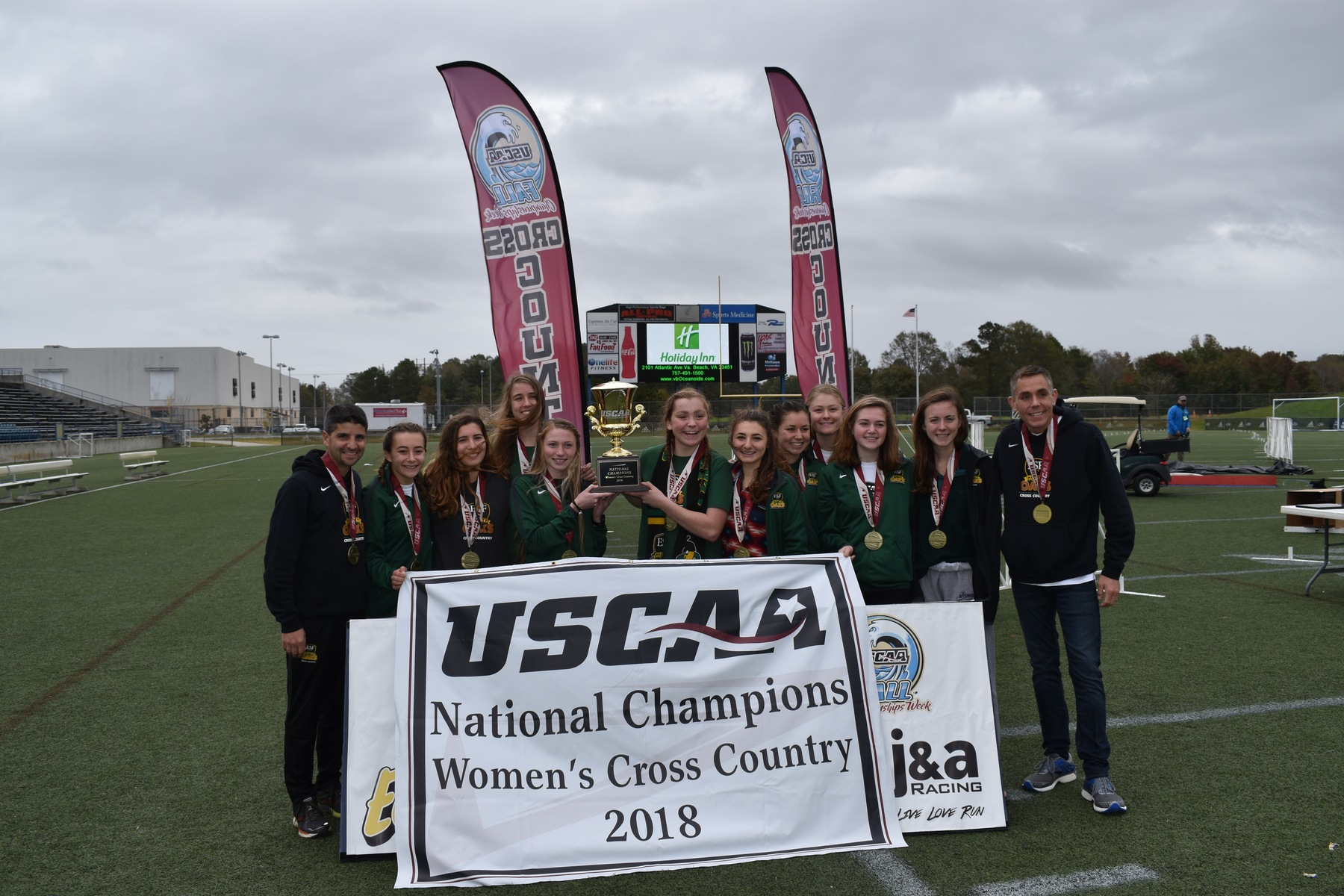 SUNY ESF Wins 2018 USCAA Women's Cross Country National Championship; Men Take Runner-Up