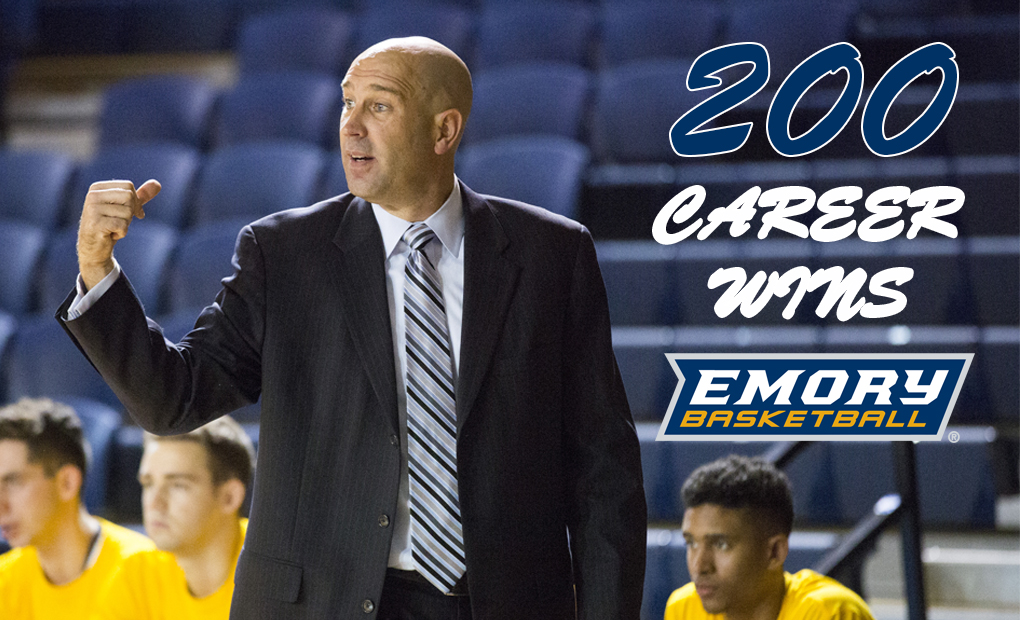 Zimmerman Notches 200th Career Win As Emory Men's Basketball Tops LaGrange
