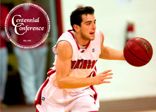 Junior Adam Honig recorded a double-double with 10 points and 11 rebounds to lead the Red Devils into the Centennial Conference Championship<BR>