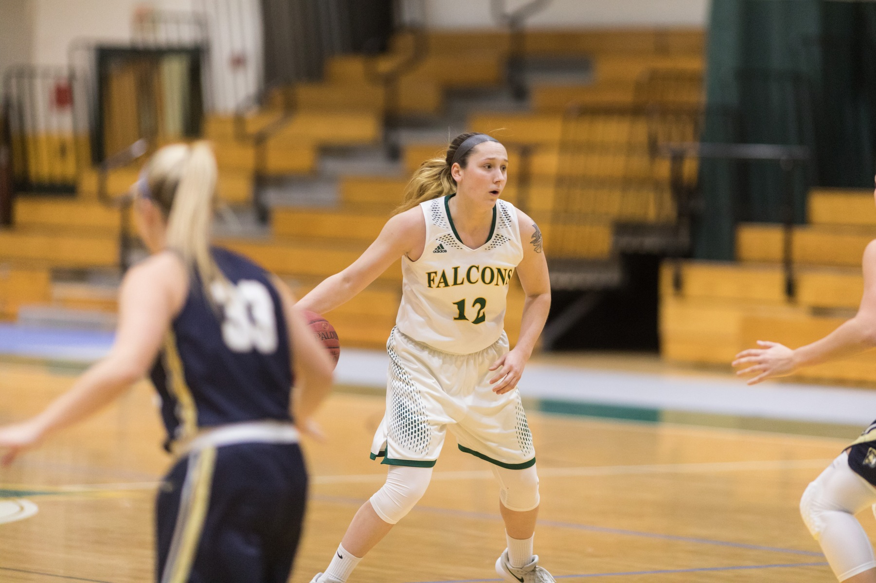 Falcons Rally Past Trailblazers, 81-76