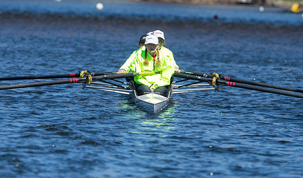 Rowing Kicks Off Season At Textile Regatta