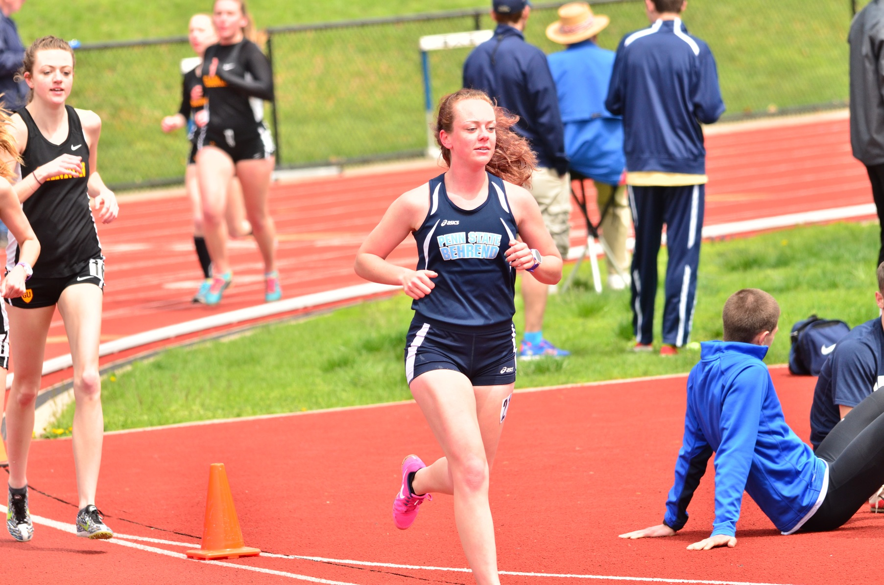 Women's Track & Field in Fifth Place at ECAC Championships