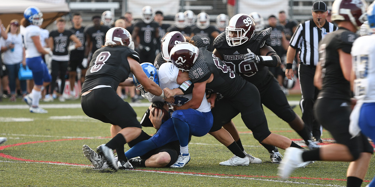 No. 18 Evangel Football Ready for First Meeting at Clarke Saturday