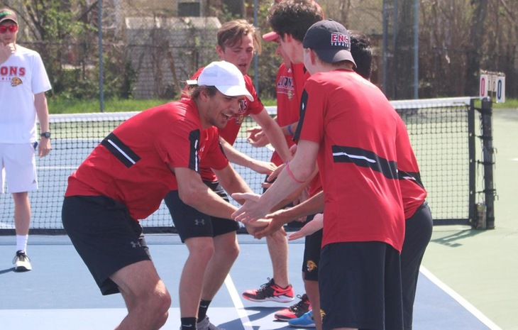 No. 2 Seed Men's Tennis Heads to Nichols Saturday for CCC Championship Showdown