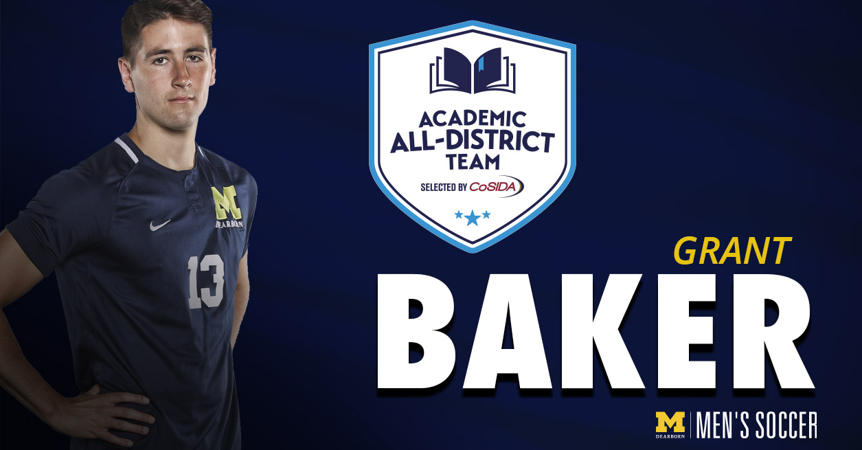 Grant Baker named to CoSIDA Academic All-District Team