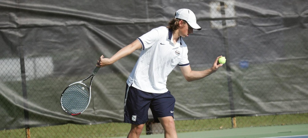 No. 46 Men's Tennis Downed by No. 10 Wingate