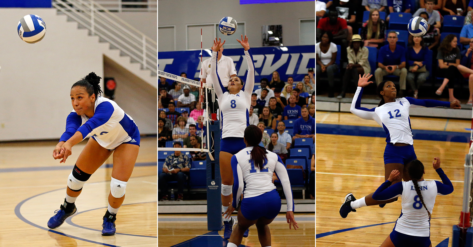 Volleyball Secures Three All-SSC Selections; Tandron Lands on First Team