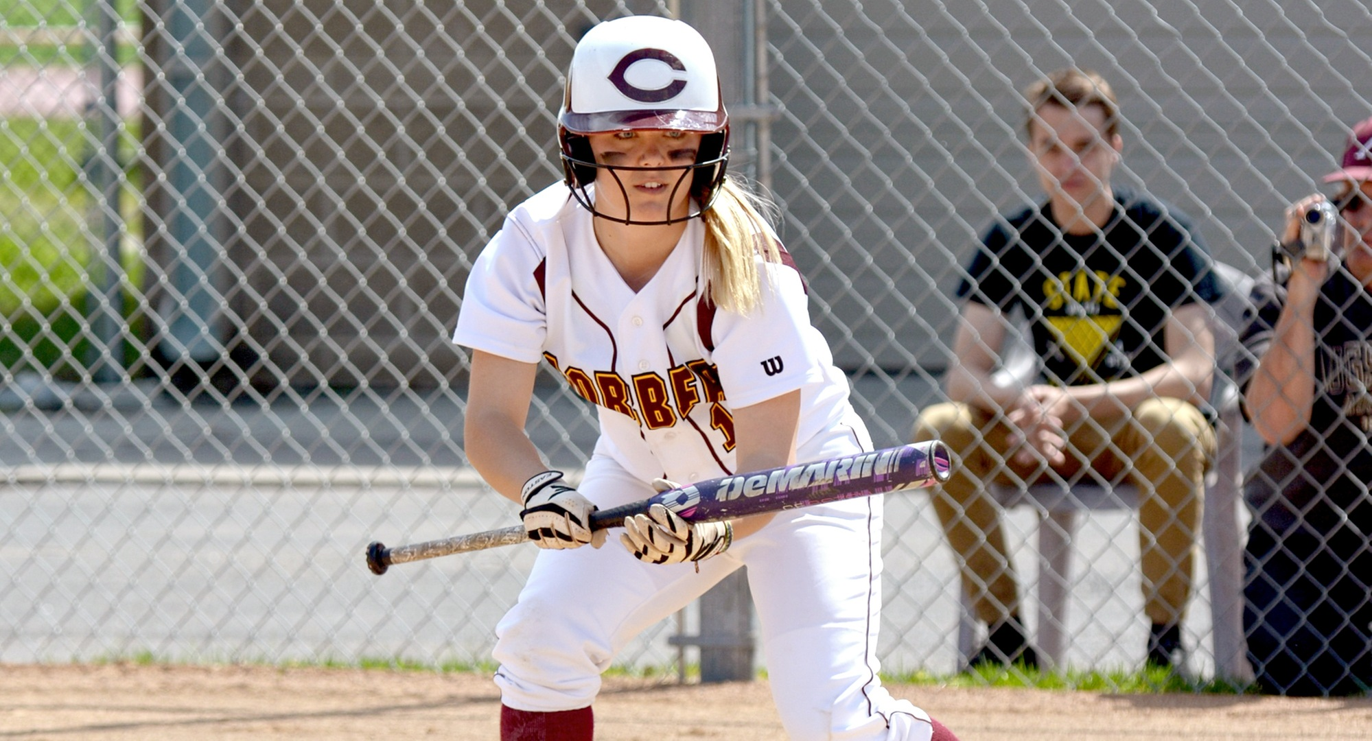 Sophomore Cora Zackrison had hits in both games for the Cobbers on Day 2 in Florida and drove in the team's only run against York.