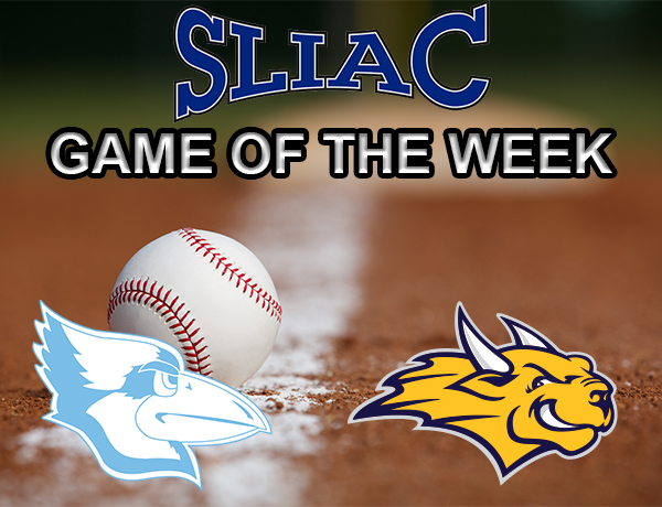 Westminster Baseball Series with Webster Tabbed SLIAC Game of the Week