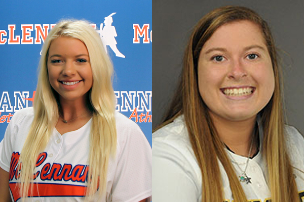NTJCAC Softball Players of the Week (April 9)
