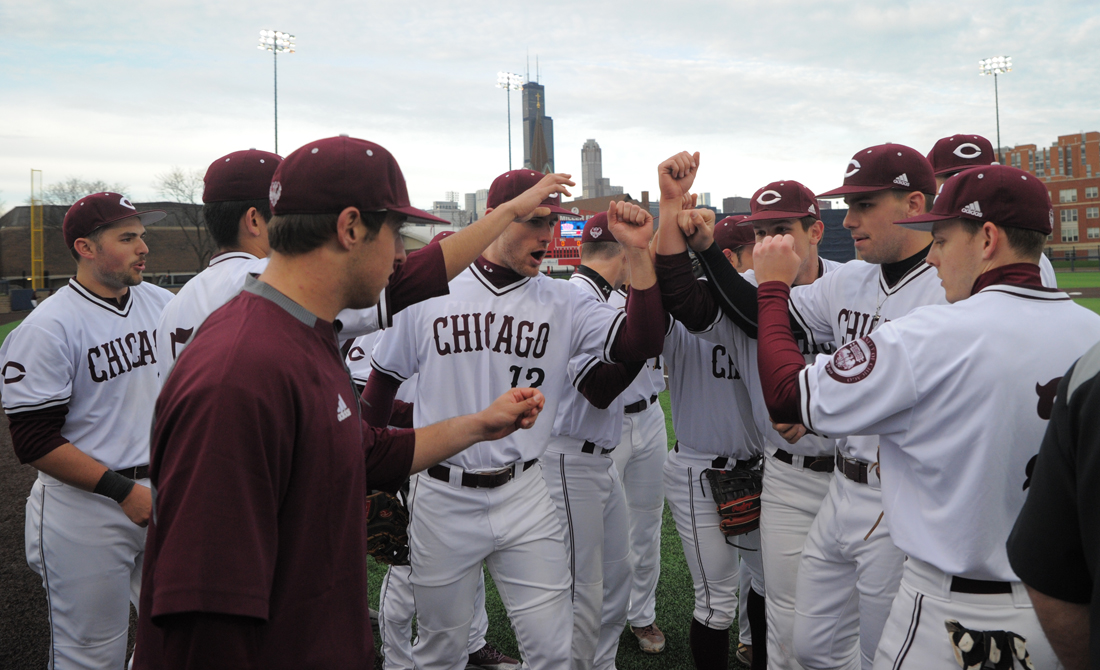 UChicago baseball game with Carthage postponed due to weather