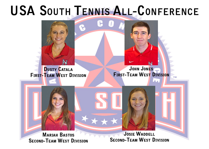 Huntingdon men and women place four on All-Conference tennis teams
