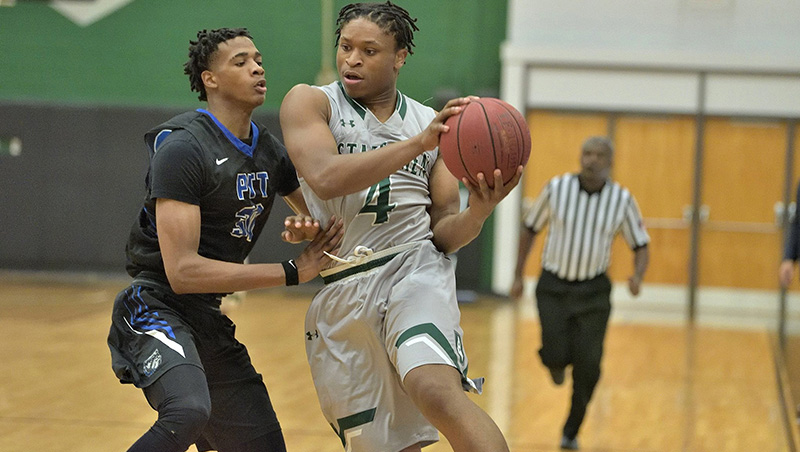 No. 6 Richard Bland Wins On The Road At Guilford Tech (N.C.) 96-79