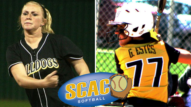 TLU's Estes, Grissom Earn SCAC Softball Players of the Week